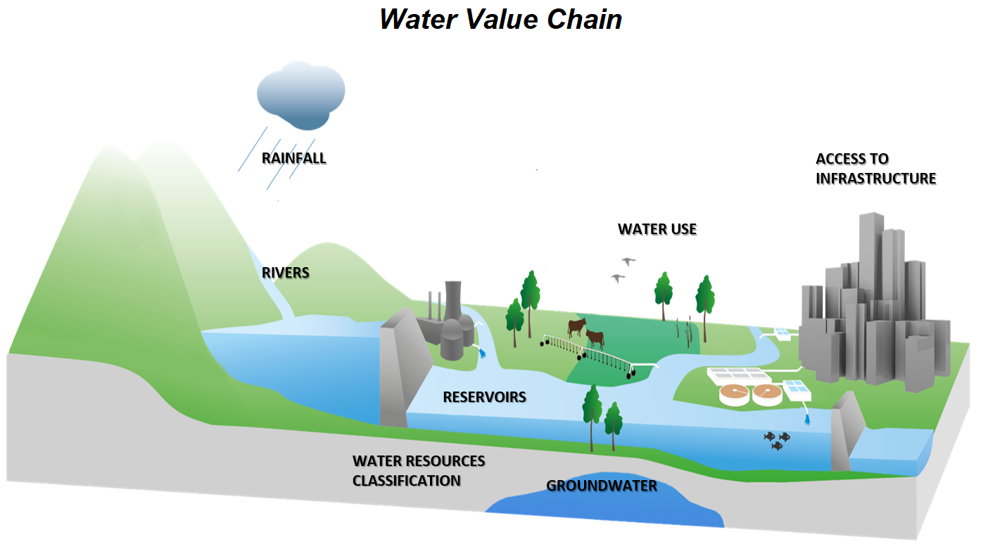 dws water value chain